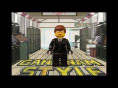 LEGO Gangnam Style! - PSY-Gangnam Style Parody (by Justin Hyon) #LEGO #PSY #Gangnam_Style
