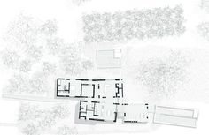 Ground Floor Plan of Swartberg House by Openstudio Architect in Great Karoo, South Africa African House, Passive Solar Homes, Studios Architecture, Desert Homes, Solar House, Ground Floor Plan, Stars At Night, Architect Design, Beautiful Buildings