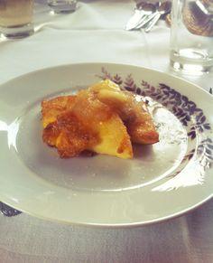 German dessert: griesschnitten