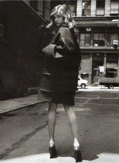 "lelaid: ""Natalia Vodianova by Jan Welters for Elle France, September 2004 """