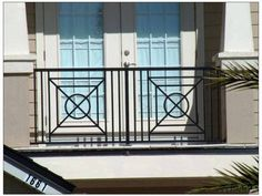 Fresh Balcony Railing Grill