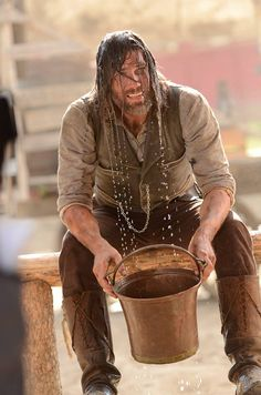 Anson Mount in Hell on Wheels...HOT HOT MAN