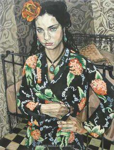 BELINDA EATON  Girl With The Orange Flower (2008)
