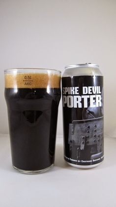 Chatham Spike Devil Porter -- Appearance: Opaque black body with minimal highlights. Pours to a small, brown, foamy head that laces and retains well enough. Smell: Moderate aroma of dark fruit and roasted malt. A hint of tang. Taste: Sweet dark fruity flavor up front; subtle notes of prune and cherry, maybe even root beer. I detect a subtle tanginess as well – the first sign of infection or oxidation. A less refined palate probably wouldn't notice it. The second half is quite pleasing, thoug