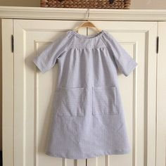 Picnic blouse as dress
