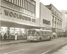 Woolworths. Downtown St Louis - Vintage Photo