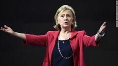 Hillary Clinton is backing President Barack Obama's authorization of airstrikes against ISIS in Syria and Iraq.