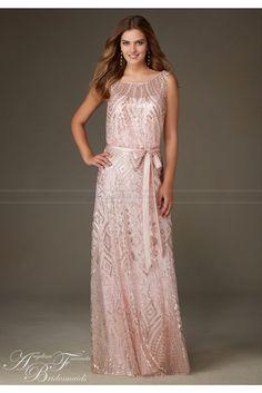 Mori Lee Bridesmaids Dress Style 20478