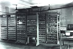 1949. Electronic Delay Storage Automatic Calculator (EDSAC) was an early British computer. The machine, was constructed by Maurice Wilkes and his team at the University of Cambridge Mathematical Laboratory in England. EDSAC ran its first programs on 6May 1949, when it calculated a table of squares[2] and a list of prime numbers.  A rebuild project is just under way by the Computer Conservation Society. The EDSAC will be rebuilt over 3-4 years at the National Museum of Computing, Bletchley.