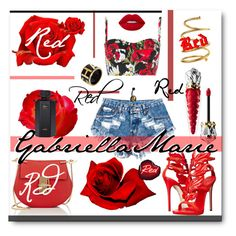 """""""#Red #Contest #Daretobefashion"""" by gabriellaaudiamarie ❤ liked on Polyvore featuring Chloé, Giuseppe Zanotti, Chanel, Dolce&Gabbana, Christian Louboutin, Lime Crime, Gucci and Seletti"""