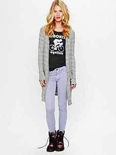 Candy Stretch Skinny Jean (But, i love this whole outfit!)