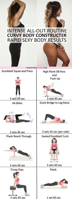 #womensworkout #workout #femalefitness Repin and share if this workout gave you sexy curves! Click the pin for the full workout.