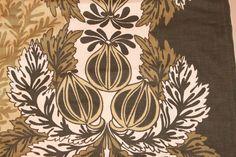 Gorgeous Finnish vintage cotton HALF YARD by maili on Etsy