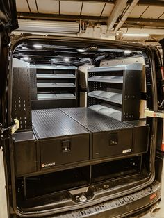 Van Drawers & Racking system installed just before Christmas 🔥  Give yourself some peace of mind knowing your tools are safe & secure as well as increasing your productivity with faultless organisation 🛠️  #madeinbritain #loadedforlife #pickup #4x4 #storageideas #storagesolutions #vanstorage #vans Truck Storage Box, Van Storage, Storage Boxes, Van Racking Systems, Bed Organiser, Vans Slides, Mobile Workshop, Pickup Truck Accessories, Truck Bed