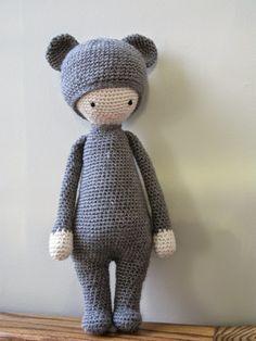 Meo én horgolt: Boo Bear Pattern