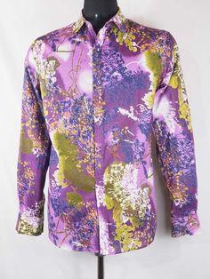 eb7ba3c375 chemise vintage retro ethnique style ancien 60'S 70'S coton col italien  bouton pression detail et grossiste vente en ligne boutique PACAP