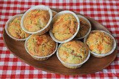 Muffins med skinke og ost Baby Snacks, Keto Dinner, Bento, Oreo, Tapas, Meal Prep, Picnic, Dinner Recipes, Lunch Box