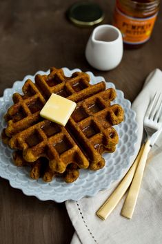 Pumpkin Waffles / See and Savour