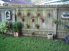 easy to do yard shade | ... Your Fence can be a FUN and EASY alternative to expensivelandscaping