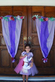 Tangled party Rapunzel party