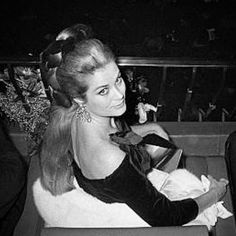Princess Grace at her 40th birthday party.