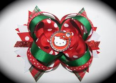 Hello Kitty Christmas Bow