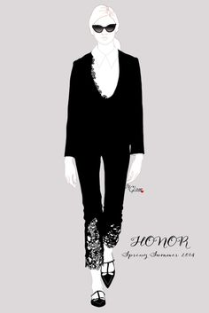 Honor SS 2014 by Glam