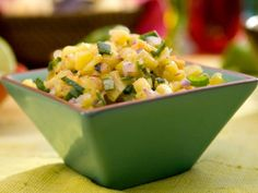 Get Pineapple-Ginger-Habanero Salsa Recipe from Food Network