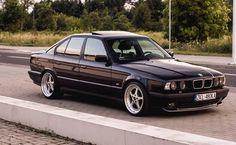Mean looking 5-series BMW