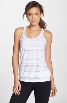 prAna 'Ambrosia' Racerback Top available at #Nordstrom