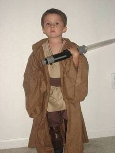 How to: Jedi Robe for kids (easily adapted for adults too) - OCCASIONS AND HOLIDAYS