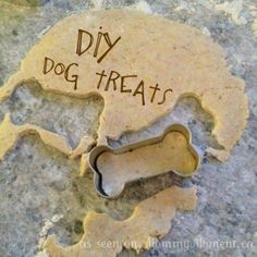 Cheesy dog treats From Incredible Recipes Facebook Page