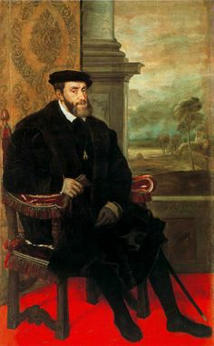 Charles V, Holy Roman Emperor by Titian