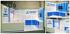 Zimmer trade display stand at NZOA 2012 designed and built by Peek Exhibition www.peek.co.nz