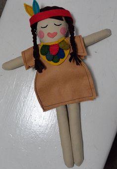 indian princess doll