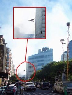 Image taken during the fall of the Twin Towers on 9/11. This Creature is said to be of an alien race called the Draconians, which are Reptilian in Nature, and have compromised the Worlds Elites. They are said to be in collaboration with the Archons and Annunaki, also Aliens, and want only the control of planet Earth and it's Resources. These Aliens, the Black US Govt. & Israel are responsible for 9/11. (do the research). Photo © by Steve Moran, 2001