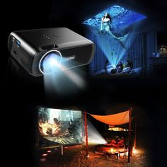 Accessible at an exceptionally sensible value, the LESHP Mini Projector packs a considerable measure of significant worth. #PortableProjector #Projector #BestProjector Best Portable Projector, Best Projector, We The Best, Mini