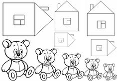 2 Sensory Activities Toddlers, Kids Learning Activities, Preschool Activities, September Preschool, Goldilocks And The Three Bears, Math Measurement, Number Games, Nursery School, Fox Art