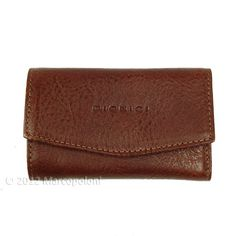A classic-style leather key case wallet with a modern look...