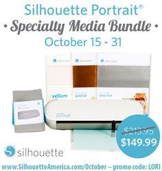 Silhouette Portrait Giveaway   New Freebies   SALE