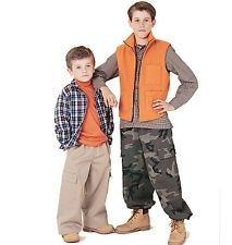 Sewing pattern Boy's Shirt, Vest  Pants 7-16yrs #6020
