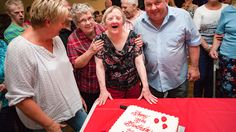Woman with Down syndrome defies odds to celebrate her 75th birthday