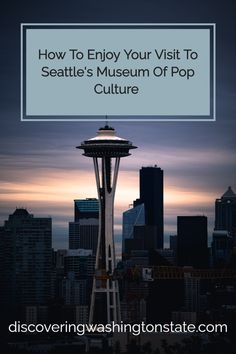 As one of the city's most popular attractions, a visit to the Seattle Museum of Pop Culture will likely be on your list of things to do in Seattle. #museums #seattle #pacificnorthwest Holiday Destinations, Travel Destinations, City Pass, Backpacking Tips, West Lake, Nightmare On Elm Street, Washington State, Pacific Northwest, Seattle Skyline
