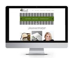 Website design and website development for Linnette Reindel by The Savvy Socialista.