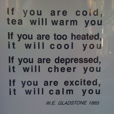 """tea :) would be cute in a frame for a kitchen so would """"a cup of tea the Irish answer to all problems"""""""