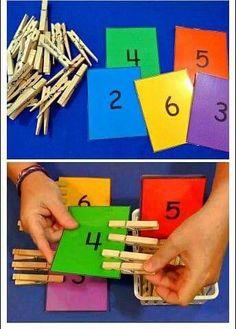 Top 40 Examples for Handmade Paper Events - Everything About Kindergarten Preschool Learning Activities, Educational Activities, Toddler Activities, Preschool Activities, Toddler Preschool, Numbers Preschool, Math For Kids, Kids Education, Barn