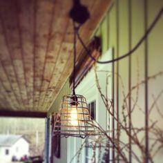 Beautiful porch light - Industrial