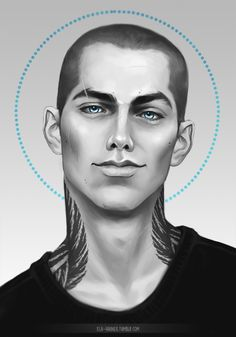 xla-hainex: another one of giveaway prizes. Ronan for. Ronan And Adam, Blue Sargent, Raven King, Maggie Stiefvater, Raven Art, Wow Art, Cycling Art, Character Design Inspiration, Drawing Faces