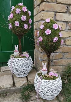16 Cake, Easter Crafts, Paper Flowers, Flower Arrangements, Wicker, Wedding Decorations, Bunny, Wreaths, Spring