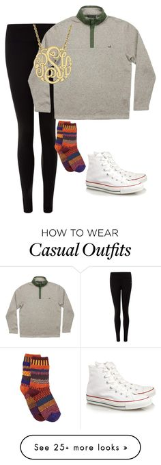 """Casual"" by sadiepatton on Polyvore featuring NIKE, Solmate Socks and Converse"